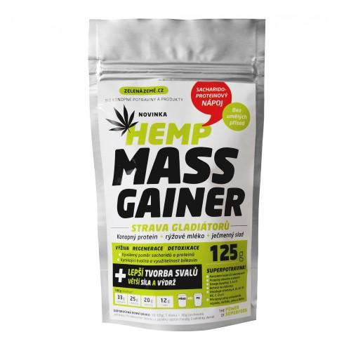 Napój konopny wysokoproteinowy fitness. Hemp Mass Gainer. BIO 125g