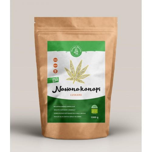 Nasiona Konopi Łuskane 1kg