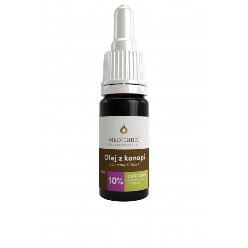 Olej CBD 10% 10ml Medicann (1000 mg CBD i CBDa)