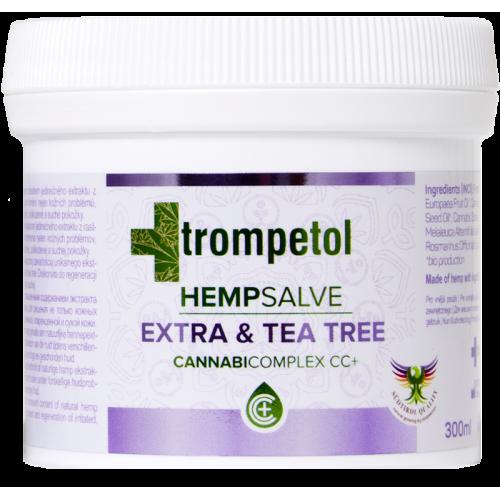 Trompetol Extra z olejkiem z drzewa herbacianego 300ml