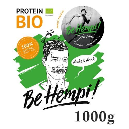 Białko konopne BIO 1000g Be Hempi!