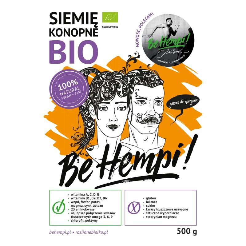 Siemię konopne BIO Be Hempi! 500 g