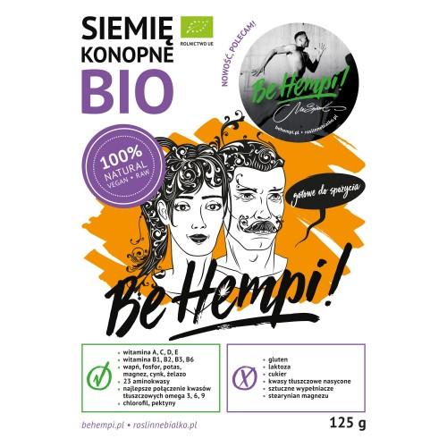 Siemię konopne BIO Be Hempi! 125 g
