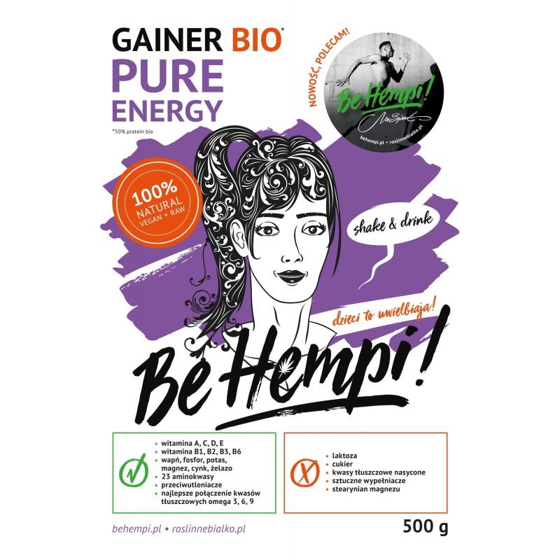 Gainer roślinny Be Hempi! 500 g