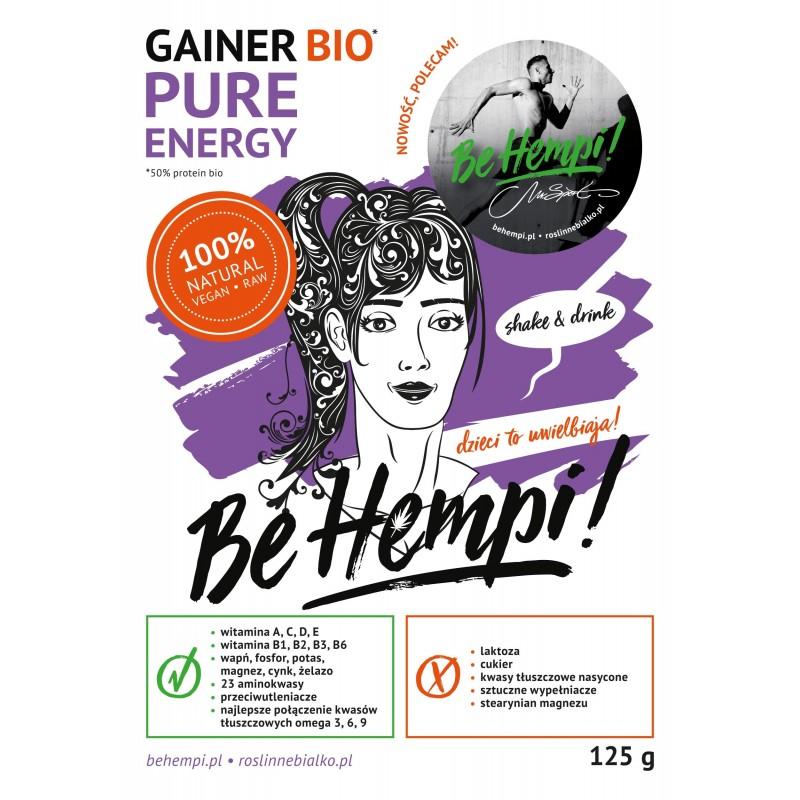Gainer roślinny Be Hempi! 125 g