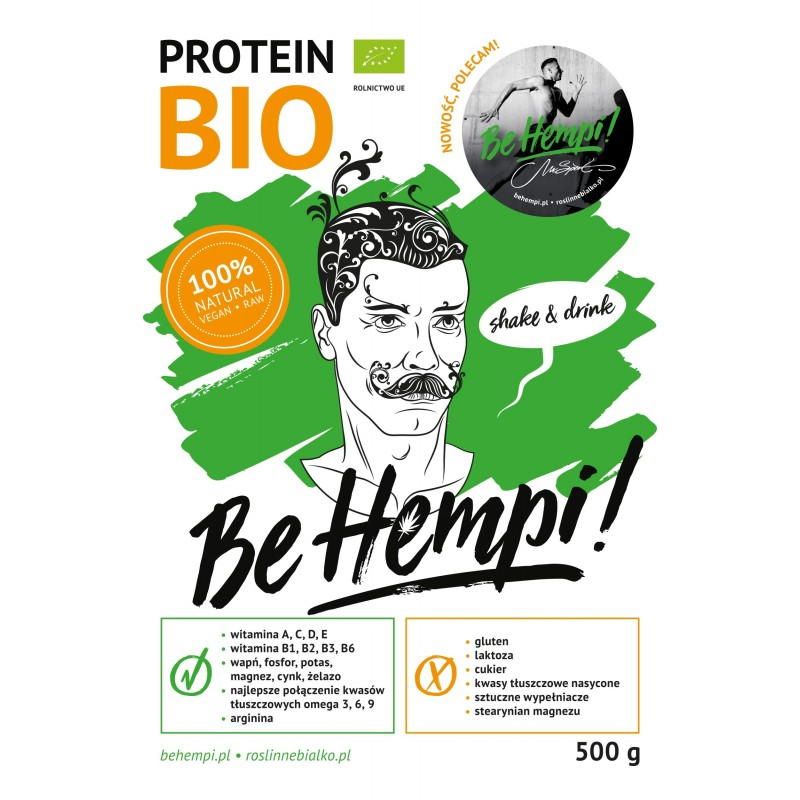 Białko konopne BIO Be Hempi! 500 g