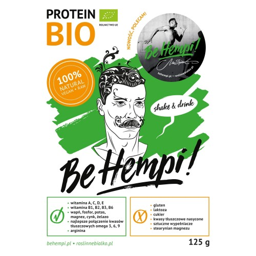 Białko konopne BIO Be Hempi! 125 g
