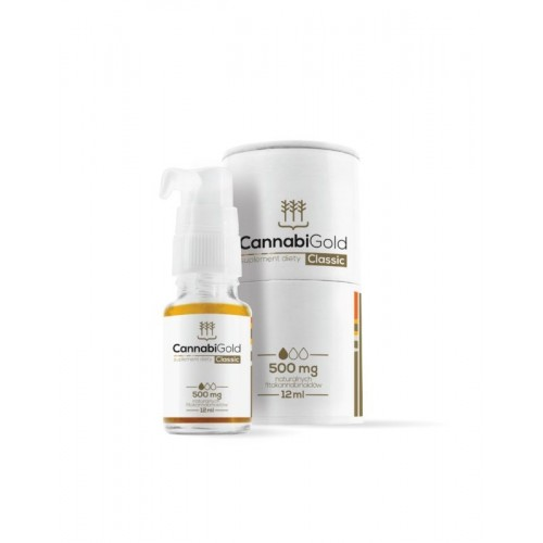 Cannabigold Classic 500 mg 12ml